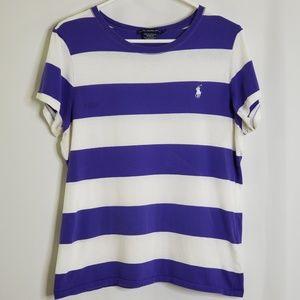 Ralph Lauren Sport Striped Tee Shirt